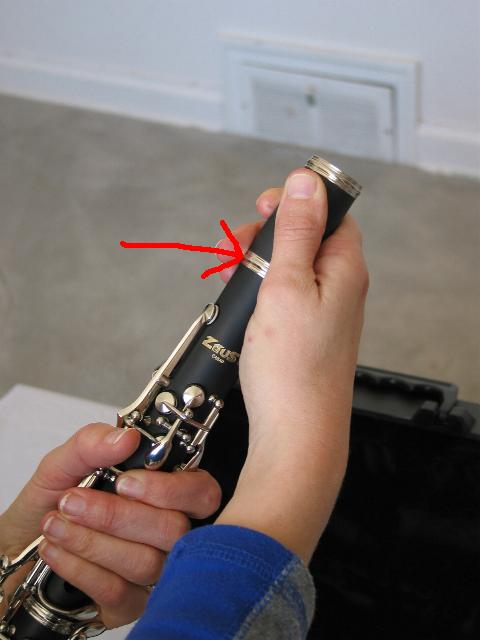 how to clean barrel clarinet